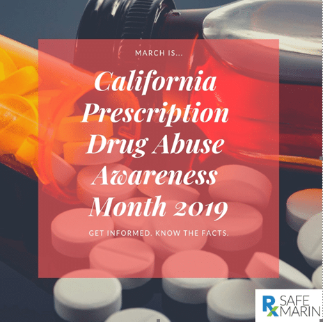 March is California Prescription Drug Abuse Awareness Month
