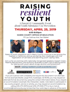 Raising Resilient Youth - Thursday April 25, 2019