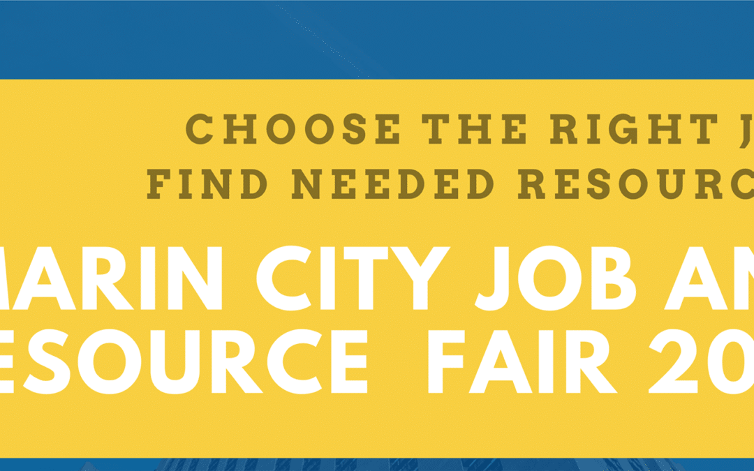 Marin City Job and Resource Fair 2019