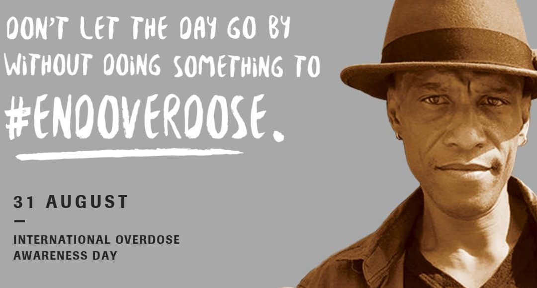 International Overdose Day is August 31st, Every Year
