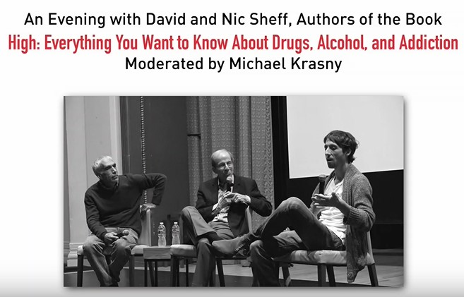 An Evening with David and Nick Sheff Livestream Updates